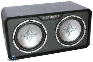 TR4512X2D MTX DUAL 12 SUBS 1000W SUBWOOFER SPEAKERS PORTED BASS