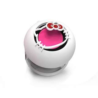 Mini Hello Kitty Capsule Speaker   White