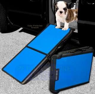 Pet Gear Bi Fold Dog Cat Ramp, PG9200BR Cap. 250 lbs