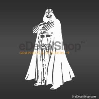 Sith Lord Darth Vader Star Wars Movie   vinyl decal sticker