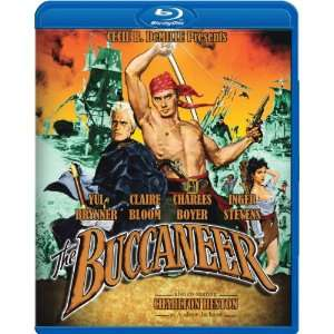 The Buccaneer [Blu ray] Yul Brynner, Charlton Heston