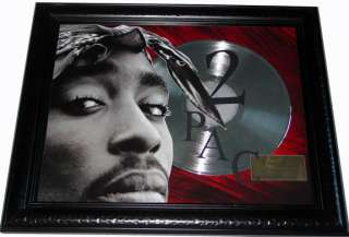 Tupac Shakur 2pac Me Against The World Gold Platinum Record cd