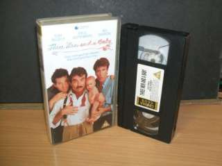 Three Men And A Baby   Tom Selleck   VHS PAL Video