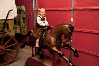 MECHANICAL COIN OPERATED HORSE CHAMPION ARCADE THEMED MUSEUM MADE