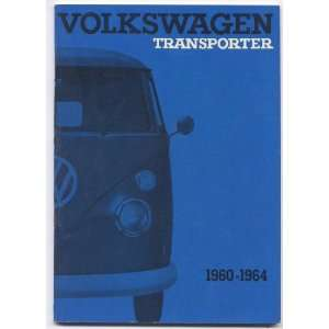 Volkswagen Transporter Bus Instruction Manual 1960 64