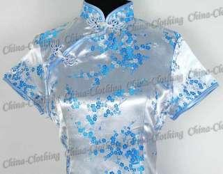 Tunic Top Shirt Pullover Blouse Light Blue L/Sz.14 A37G