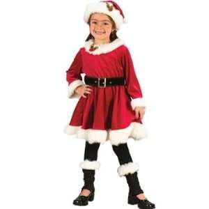 Santa Dress Child Costume (Small) Toys & Games