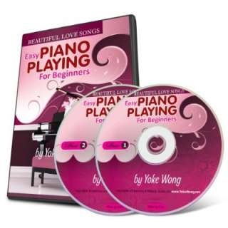 lessons for beginners beautiful love songs piano instruction 2 dvds 1