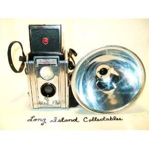 Vintage Kodak Duaflex II TLR Camera CUSTOM CHROME FRONT