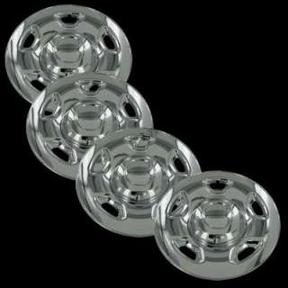 04 11 Ford F150 17 Chrome Wheel Skins Hubcaps Covers Hub Caps Set