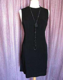 MICHAEL KORS PERFECT BLACK DRESS~NWT NEW SAKS~ITALY~M