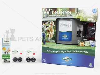 WIRELESS ELECTRIC DOG PET FENCE PETSAFE PIF 300 + GIFT