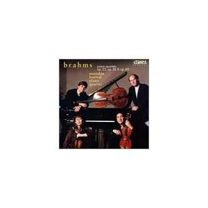 Three Piano Quartets Brahms, Rieger, Chastain, Coletti