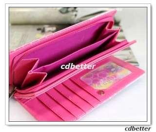 Hello Kitty Cute Dots Bi Fold Long Clutch Purse Wallets