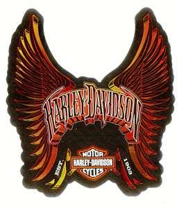 Harley Davidson Wings Bar & Shield Logo Decal Stickers