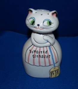 Vintage 1959 Holt Howard Pixieware Cozy Kitten KItty Cat Powdered