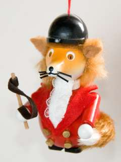 Christian Steinbach MASTER FOX German wood Ornament