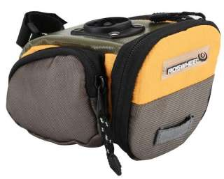 New Cycling Bike Bicycle Tail Saddle bag Quick Release Yellow