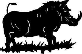 Wildlife Boar Hunting Sticker ST #6 Wild Hog Decals 6