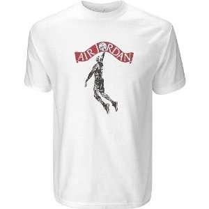Nike Air Jordan Flight School Shirt White Size 3XL XXXL
