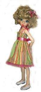 Sun Dresss pattern for Kaye Wiggs, Layla, Hope & friends, MSD