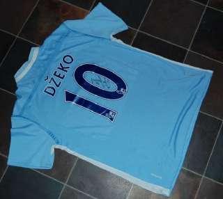 EDIN DZEKO Signed #10 MANCHESTER CITY Shirt EXACT PROOF   AUTHENTIC