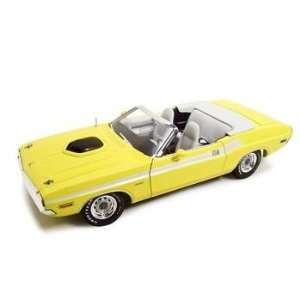 1971 Dodge Challenger Yellow 118 Diecast Model Toys