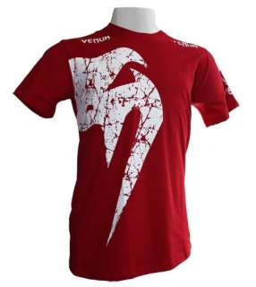 Venum MMA UFC Giant RED/WHITE Shirt Size 2XL