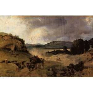 Hand Made Oil Reproduction   Jean Baptiste Corot   24 x 16
