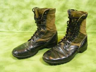 VINTAGE US ARMY military combat JUNGLE boots vietnam war era