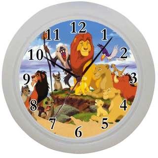 Framed Wall Clock Lion King Movie Kids bedroom Ideal Gift Room