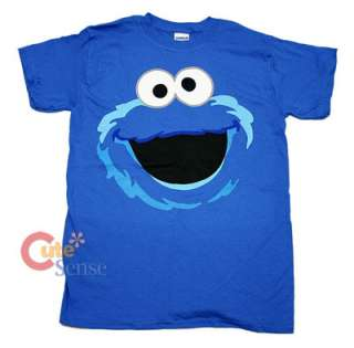 Sesame Street Elmo COOKIE MONSTER Face T Shirts License