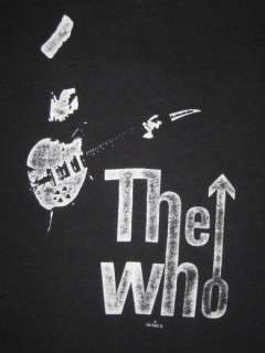 1979 THE WHO VTG CONCERT T SHIRT ORIGINAL 70s TOUR tee