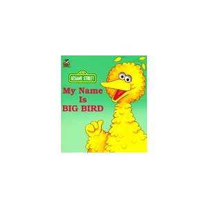 My Name Is Big Bird (A Golden Little Look Look Book) Constance Allen