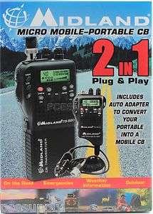 Midland 75 822 40 Channel Hand Held Micro CB Radio NEW 46014758223