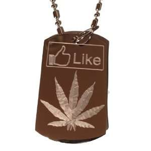 It Weed Pot Leaf Ganja Marijuana Leaf Logo Symbols   Military Dog