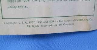 Vintage Singer Featherweight Sewing Machine Zigzag Attachment 121706