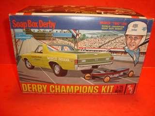 AMT 1969 Chevy El Camino Unb. Model Car Kit / Soap Box Derby