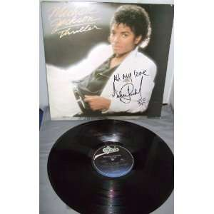 Michael Jackson Autograph Signed Thriller Legendary