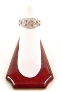 Tiffany & Co Platinum & Diamond Flower Ring