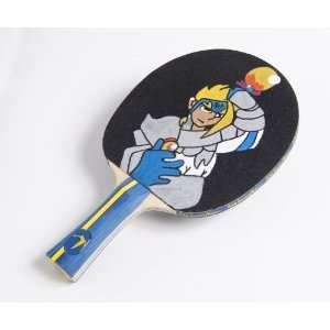 The Manga Mascot Paddle Premium Table Tennis Nation Art