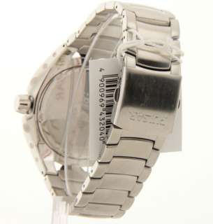 Pulsar PG8143 Mens Stainless Steel Black Dial Date Casual Dashing