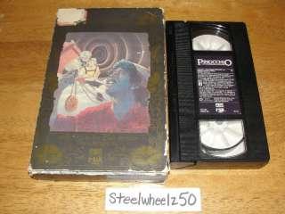 Pinocchio VHS Faerie Tale Theatre 1983 Paul Reubens HTF