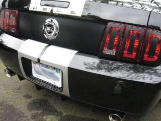 Trunk Center Black Out Panel Decal 05 09 Mustang/Cobra/Saleen