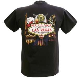 Davidson Las Vegas Dealer Tee T Shirt Shift Happens BLACK MEDIUM #RKS