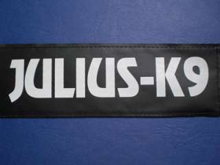 Julius K9 Power harness  red  GREAT labels available