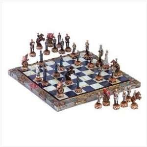 Civil War Chess Set: Sports & Outdoors