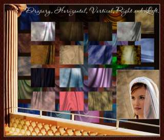 DIGITAL BACKDROPS & TEMPLATES FOR WEDDING PHOTO ALBUM