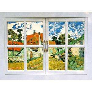Window Adhesive Removable Wall Decor Accents Mural Fabric Stickers #3
