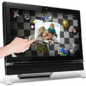Touch Screen All in One Desktop PC (Black): Computers & Accessories